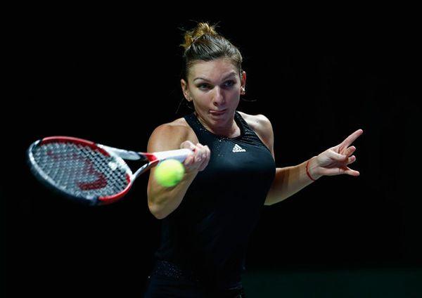 Simona Halep dupa calificarea in finala Turneului Campioanelor