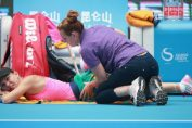 Simona Halep accidentare Beijing