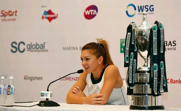 Simona Halep singapore turneul campioanelor