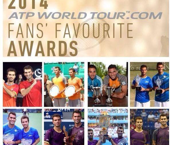 Horia Tecau si Jean Julien Rojer fans favourite awards