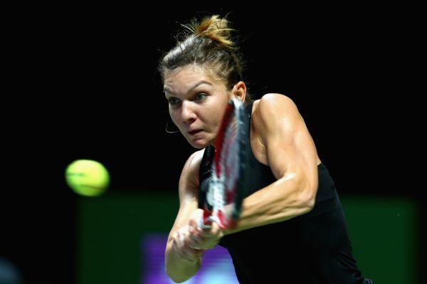 Simona Halep dupa victoria cu Serena Williams, de la Singapore
