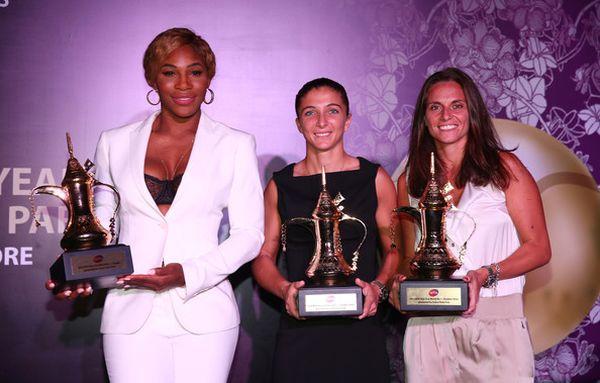 Serena Williams, Sara Errani si Roberta Vinci cu premiile pentru primul loc la Singapore