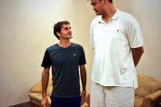 Federer si Yao Ming Shanghai