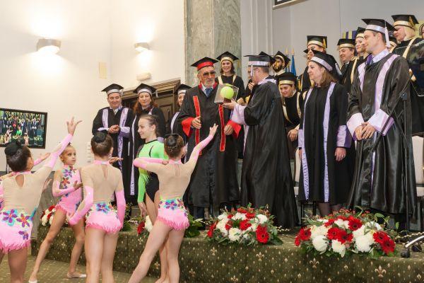 Ion Tiriac a primit titlul de Doctor Honorius Causa al UNEFS