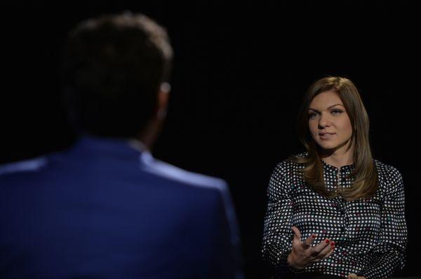 Simona Halep, în studioul emisiunii Dupa 20 de ani, de la ProTV