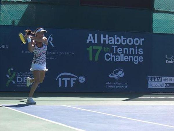 alexandra dulgheru tenis dubai itf