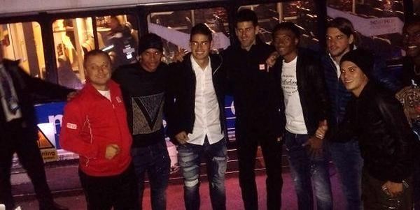 Djokovic james rodriguez fotbal columbia