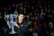 Novak Djokovic trofeu lider mondial