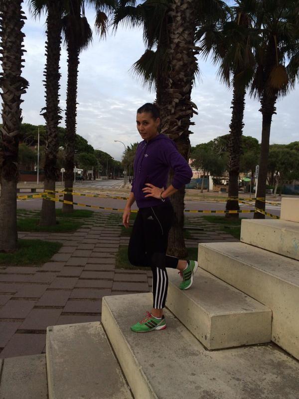 Flavia Pennetta antrenament tenis pregatire