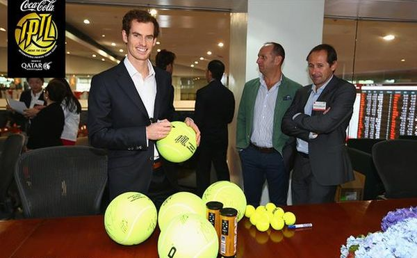 Andy murray manila iptl tenis