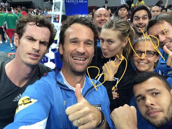 Manila Mavericks selfie tennis iptl