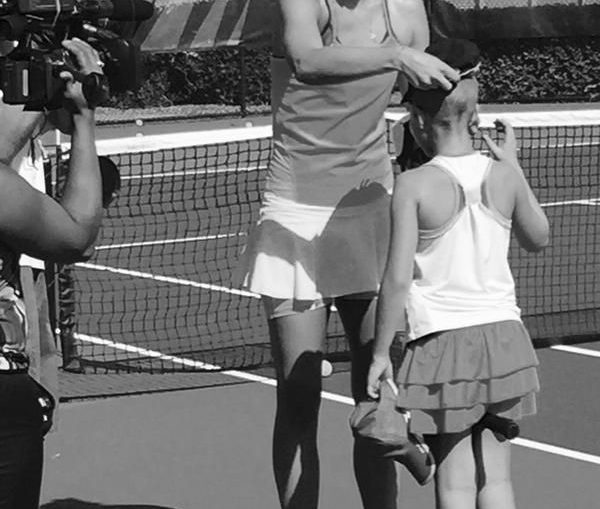 sharapova copil sunny img tennis