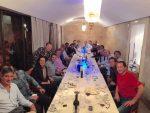 POZA ZILEI, 25 noiembrie 2014: Rafael Nadal la tradiționala cină cu echipa de la finalul anului