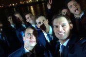 Un selfie cu Tecau si ceilalti jucatori de dublu