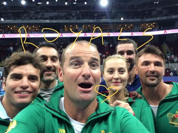 uae royals tennis iptl selfie