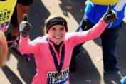 Caroline Wozniacki trece linia de sosire la maratonul de la New York