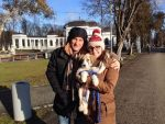 FOTO Andrei Pavel și Tamira Paszek au adoptat pe termen scurt un pui de cățel