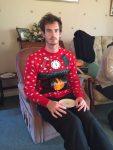 FOTO Andy Murray, cuprins de spiritul Crăcunului la petrecerea familiei