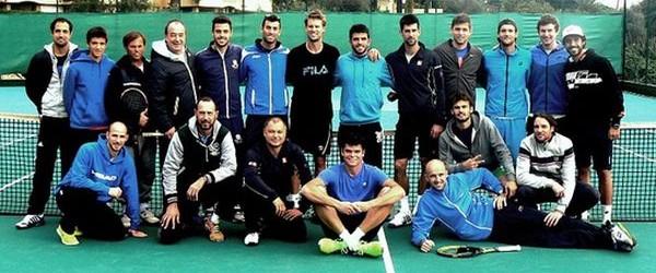 Rezidenți în Monaco, Novak Djokovic și Milos Raonic s-au pregătit zilele trecute împreună, pe un teren din Monte Carlo, alături de alți tenismeni de top. Prilejul acestui antrenament a fost...