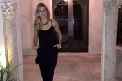 eugenie Bouchard seara costum tenis