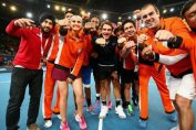 Roger Federer iptl indian aces