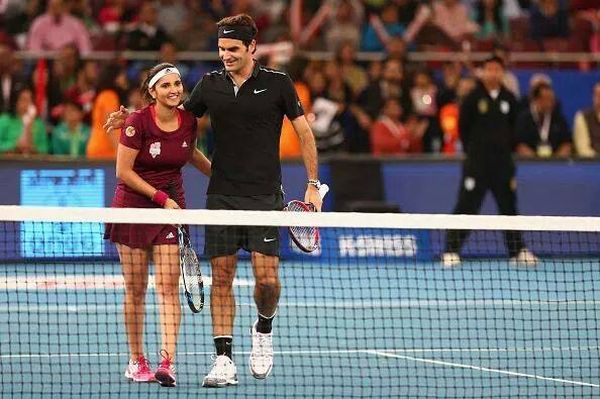 federer mirza iptl indian aces