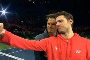 federer wawrinka africa tenis selfie