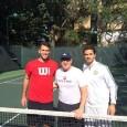 """De când a devenit un apropiat al echipei lui Andy Murray, Horia Tecău a """"împrumutat"""" și fanii britanicului. Unul ditnre aceștia e un celebru actor american. La antrenamentul de ieri..."""