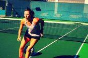 maria sharapova antrenament sua tenis