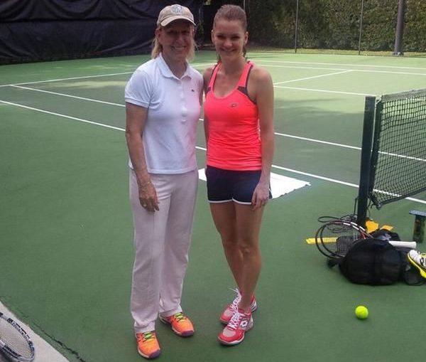 No honeymoon period as Agnieszka Radwanska splits from