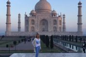 steffi graf indian taj mahal