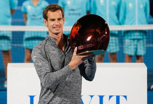andy Murray trofeu abu dhabi