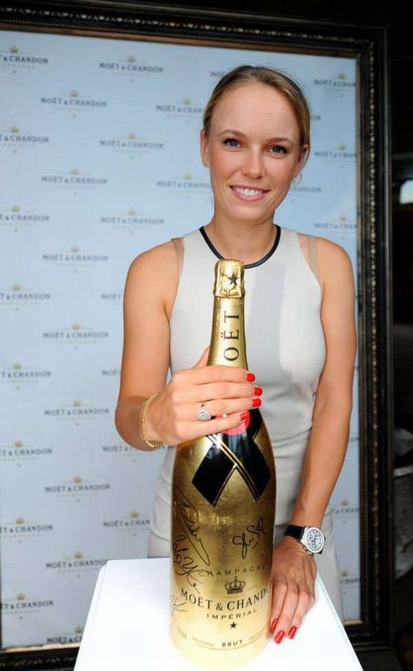 players party auckland caroline wozniacki