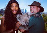 VIDEO Serena Williams s-a împrietenit cu un urs koala la Perth, unde joacă la Cupa Hopman