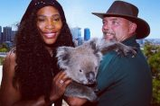 Serena Williams koala Perth Hopman