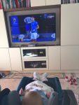 FOTO Fiul lui Novak Djokovic, Stefan, şi-a văzut tatăl la lucru la Australian Open