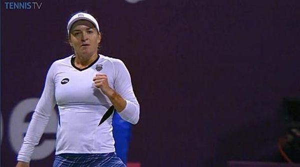 Alexandra dulgheru tenis doha wta