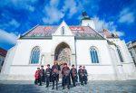 VIDEO și FOTO Marin Cilic și Marcos Baghdatis, în uniforma regimentului de gardă din Zagreb
