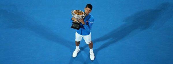 novak djokovic australian open trofeu