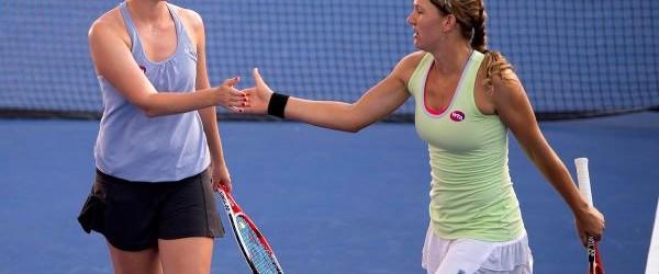 Elena Bogdan și americanca Nicole Melichar încep să culeagă roadele îndelungatei colaborări împreună. Cele două s-au calificat în sferturile de finală ale probei de dublu din cadrul turneului de la...
