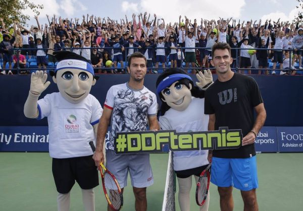tecau rojer kids day dubai