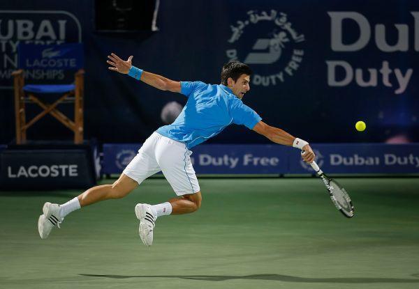 novak djokovic dubai atp tenis