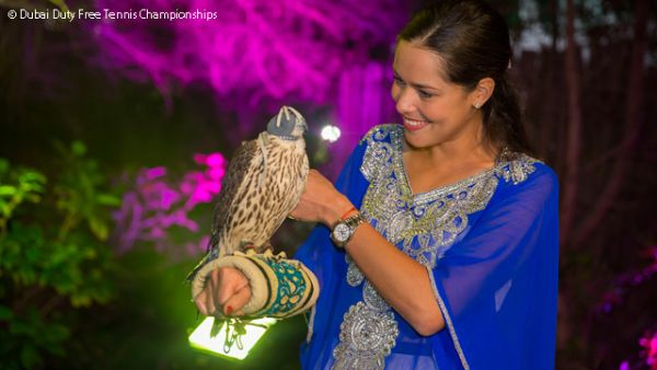 players party dubai ana ivanovic
