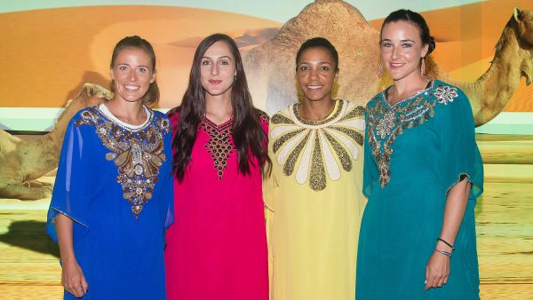 players party dubai tenis wta