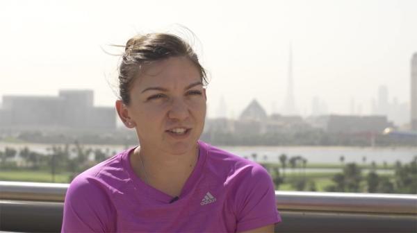 Simona Halep dubai tenis romania