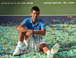 Indian Wells 2015. Imagini cu Novak Djokovic și trofeul cucerit a patra oară