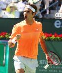 POZA ZILEI, 22 martie 2015. Roger Federer luptă pentru al cincilea titlu la Indian Wells