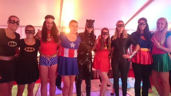 players party monterrey super eroi