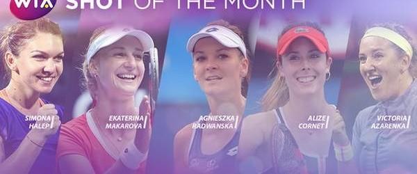 Simona Halep se numără printre cele 5 jucătoare nominalizate de WTA pentru titlul de lovitura lunii februarie. Una dintre loviturile câștigătoare ale Simonei Halep din turul secund de la Dubai,...
