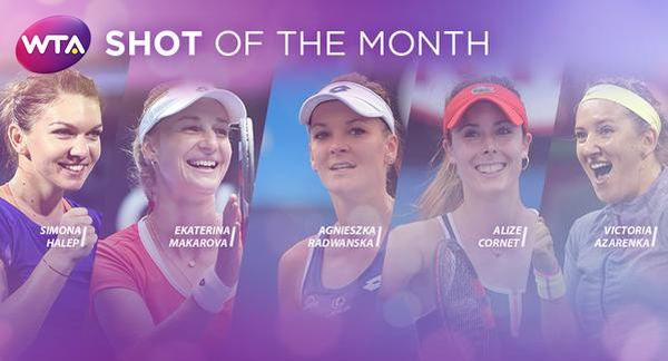 halep shot of the month